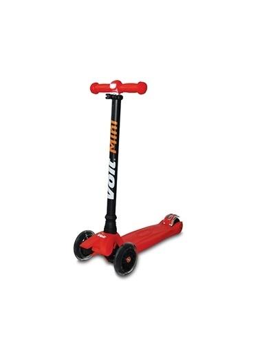 Voit 218 Işıklı 3 Teker Scooter 1Vtoy218/021 Kırmızı